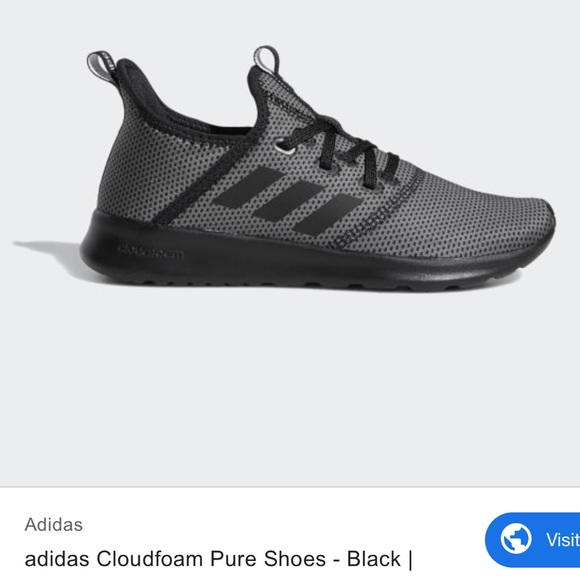 adidas Shoes - Adidas Cloud Foam Pure- Gray and black